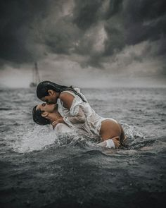 Digital artist and photographer Joan Carol creates fantasy portrait photography that explores the alluring and often mystifying beauty of the water. Couple Photography, Photography Tips, Portrait Photography, Creative Photography, Passion Photography, Digital Photography, Fantasy Portraits, Beach Pictures, Erotic Art