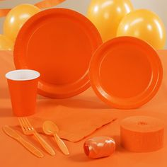 Sunkissed Orange Standard Party Pack