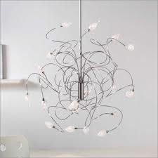 The picture is so small! But I just had to pin this, such an extraordinary chandelier