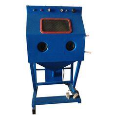 Wet Grit Blasting Machine, Dustless Wet Sandblasting Machine for Sale