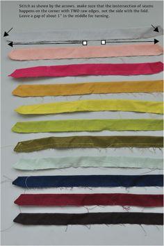 Diy Fabric Bow Tutorial Hair Bows Fabric Bow Tutorial