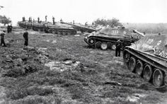 A large group of Jagdpanthers setting of a defensive line would be able to create very serious firepower