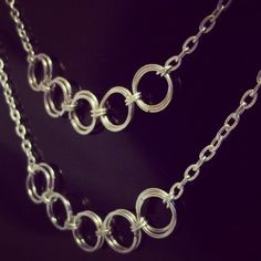 So good I made it twice!  #silver #necklace #chain