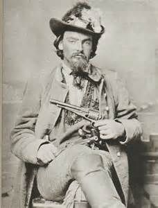 """This picture is of Quantrill's friend Archibald J. """"Little Archie"""" Clement (1846-1866). He rode with Willliam Clarke Quantrill.  After Quantrill was shot and paralyzed during a skirmish with Union soldiers in Louisville, Kentucky in May of 1865 and died a month later on June 6th, his body was buried in Louisville's St Mary's Catholic Cemetery."""