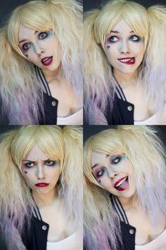 The 12 Coolest Suicide Squad Harley Quinn and Joker Cosplays So Far Superman, Batman, Halloween Dress, Couple Halloween Costumes, Halloween Face Makeup, Harley Quinn Cosplay, Joker And Harley Quinn, Helen Stifler, Dc Comics