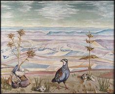 Palencia, Benjamín: La perdiz Spanish, Landscapes, Paintings, Contemporary Paintings, Canvases, Partridge, Oil On Canvas, Museums, Animales