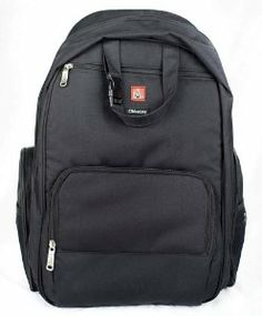 Amazon.com: Okkatots Travel Baby Depot Backpack Bag - Black: Baby