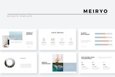 Meiryo Minimalist Keynote Template by slidequest on Professional Powerpoint Templates, Creative Powerpoint, Presentation Design Template, Business Presentation, Marketing Presentation, Presentation Layout, Email Templates, Keynote Template, Design Templates