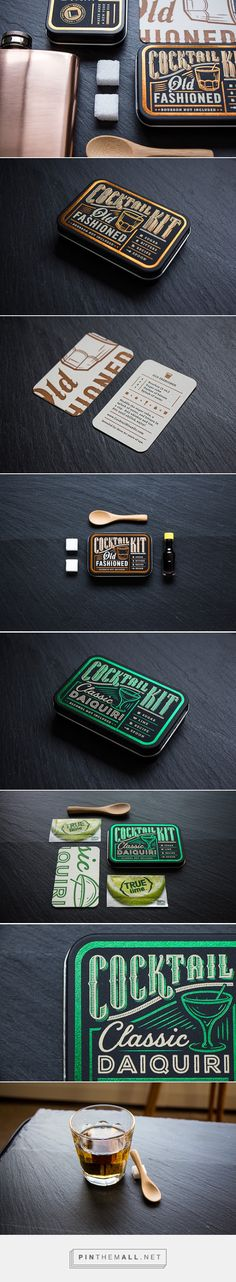 Cocktail Kit packaging designed by Cody Petts - http://www.packagingoftheworld.com/2015/10/cocktail-kit.html