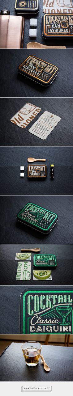 Cocktail Kit packaging designed by Cody Petts - http://www.packagingoftheworld.com/2015/10/cocktail-kit.html