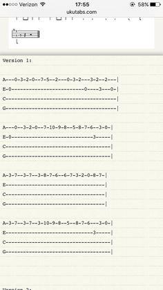 Hedwig's theme for ukulele --Harry Potter