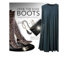"""""""Over-The-Knee Boots"""" by rigginsbabygirl ❤ liked on Polyvore featuring мода, GUESS, Alexander McQueen, Kilian и Lulu Frost"""