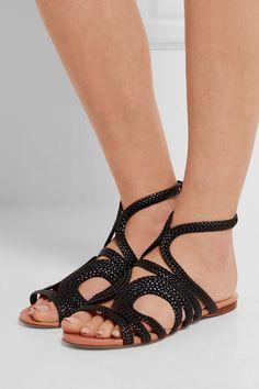 Francesco Russo | Braided leather sandals | NET-A-PORTER.COM