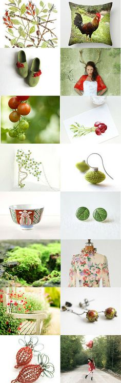 Me dreamy garden by imali on Etsy--Pinned with TreasuryPin.com