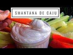 Smântână vegană de caju homemade - Retetă Video! - YouTube Raw Vegan, Videos, Ice Cream, Desserts, Food, Youtube, No Churn Ice Cream, Tailgate Desserts, Gelato