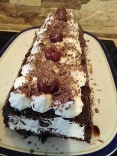 Greek Desserts, Party Desserts, Greek Recipes, Dessert Recipes, Food Gallery, Oreo Pops, Black Forest, No Bake Cake, Chocolate Cake