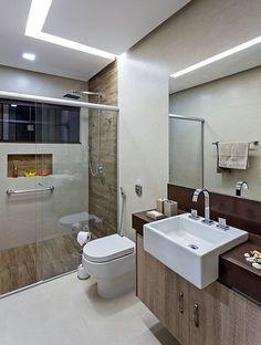 Como escolher e combinar os revestimentos do #banheiro ou #lavabo ? Veja no #simplesdecoracao