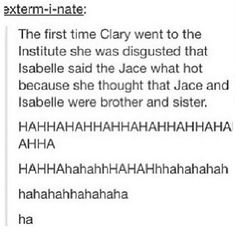 I was rereading CoB the other day and this made me laugh