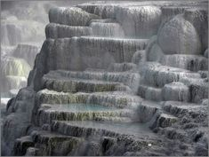 Egerszalok Salt mountain in Hungary Heart Of Europe, Pamukkale, Baroque Architecture, Central Europe, Belleza Natural, Holiday Destinations, Budapest, Hungary, Beautiful Places
