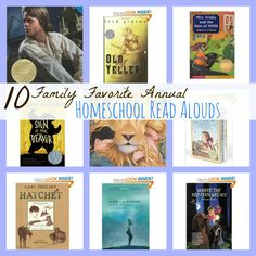 10 Family Favorite Annual Homeschool Read Alouds (several history books!)
