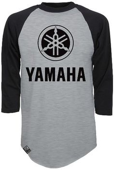 Best price on Factory Effex 'YAMAHA' Raglan Baseball Shirt (Heather Gray/Black, Large) // See details here: http://bestmotorbikereviews.com/product/factory-effex-yamaha-raglan-baseball-shirt-heather-grayblack-large/ // Truly a bargain for the inexpensive Factory Effex 'YAMAHA' Raglan Baseball Shirt (Heather Gray/Black, Large) // Check out at this low cost item, read buyers' comments on Factory Effex 'YAMAHA' Raglan Baseball Shirt (Heather Gray/Black, Large), and buy it online not thinking…