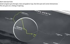 They branded and designed an entire website for the fiction culinary brand Noma North. This project was done by Jimmy Laursen and Louise Sender. Ui Inspiration, Pick One, User Interface, All Design, Branding, Concept, Website, Feelings, Behance