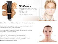 CC Cream Multibenefícios FPS 15 - Mary Kay do Brasil: Maquiagem, Cuidados com a Pele, Contato, Maquiagem Virtual, Histórias de Sucesso