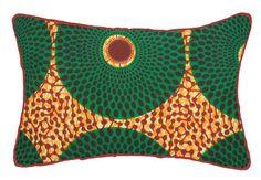 Almofada Afro Círculos 50x30 cm