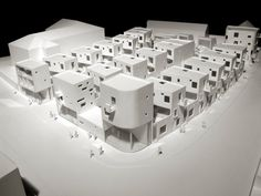 Donnybrook Quarter London, United Kingdom A project by: Peter Barber Architects, architectural model, modelo, maquette