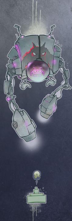 Space Invaders by poopbird.deviantart.com on @deviantART
