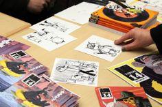 Eric Chen for Tisch 14 at Nextcomic Festival Eric Chen, German Language, Austria, Comic Art, Illustrators, Projects, Linz, Log Projects, German