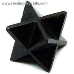 Merkaba - Black Tourmaline: a spiritual shield around the holder. Thus, meditating with a Merkaba helps us to connect with our higher self.  Black Tourmaline is a very popular stone in metaphysical circles, having many uses. Supportive Black Tourmaline is used for protecting one's energy field against negative vibrations, and also for drawing negative energies away from a person. It can have a calming effect when needed, grounding flighty or scattered energies into the earth.