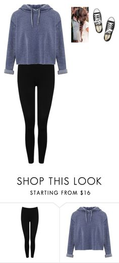 """Untitled #270"" by valeria-2002 on Polyvore featuring M&Co, Miss Selfridge and Converse"