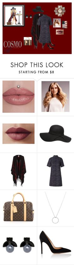 """""""COFFEE TEA AND ME"""" by destinystarheaven on Polyvore featuring BaByliss, Etro, Related, Louis Vuitton, Roberto Coin, Witchery, Gianvito Rossi and Benzara"""