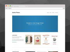 Author Theme for WordPress. WordPress Minimal Themes. $49.00