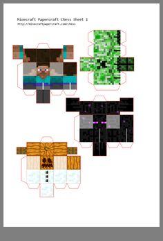 Minecraft Farm, Minecraft Crafts, Fridge Storage, Minecraft Birthday Party, Basketball Art, Paper Crafts, Diy Crafts, Paper Folding, Creative Crafts