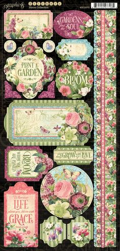 Time For Pre-Ordering Lawn Fawn, Hero Arts, Ranger & Graphic 45 Graphic 45, Bloom Book, Shabby, Scrapbook Paper Crafts, Scrapbooking, Vintage Labels, Printable Paper, Paper Design, Mini Albums