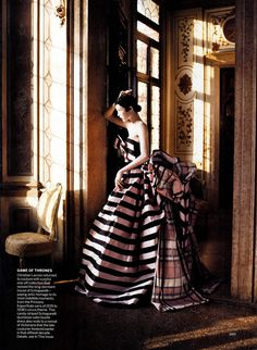 """""""A Cindarella Story,"""" Edie Campbell by David Sims for Vogue US"""