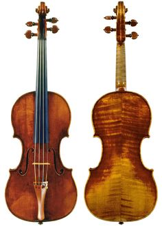 My first del gesu I ever had in my hands... Violin by Guarneri, Giuseppe 'del Gesu' (Ferni) (Cremona, 1732)