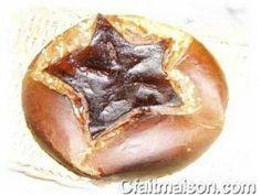 Brioche étoilée cuite en cocotte au four