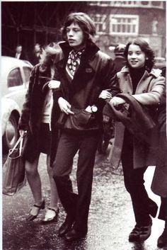 Follow Rent a Stylist https://www.pinterest.com/rentastylist/ Mick Jagger. @thecoveteur