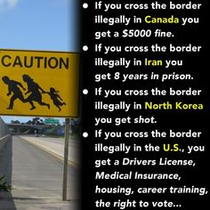 We owe illegals absolutely nothing. They have no right to come before our veterans, legal immigrants, and Americans.