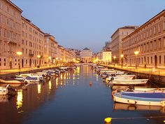 The Canal, Trieste, Italy .... my grandparents lived there during the reconstruction