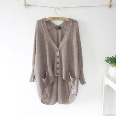 2013 Korea original single women's sweater hollow bat loose irregular lazy plus size sweaters women's Cardigan Sweater / SuchCloth