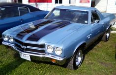 1970 CHEVY SS EL CAMINO BEAUTY! Always loved this car!