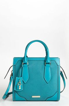 LOVE!!  Burberry 'Classic Grainy' Leather Tote available at #Nordstrom