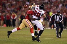 San Francisco 49ers Patrick Willis, Atlanta Falcons Tony Gonzalez