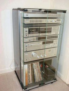 80's stereo rack system
