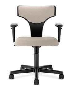 Our new HVL258 Task Chair from our basyx by HON collection! Learn more at our office furniture solutions including chairs, desks, workstations, filing and tables on hon.com #office #interiordesign