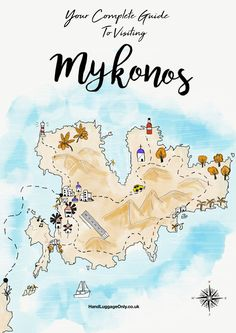 Perched within the turquoise waters of the Aegean Sea, Mykonos is one of Greece's most famous little islands. North of the stunning island of Santorini and east of the mainland, Mykonos is an incredible island to